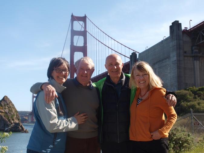 Dan, Yone, John, and Tina San Francisco